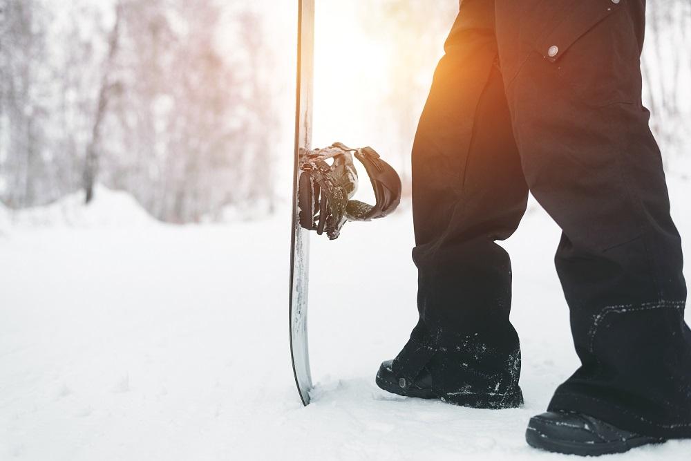 Snowboarder Standing