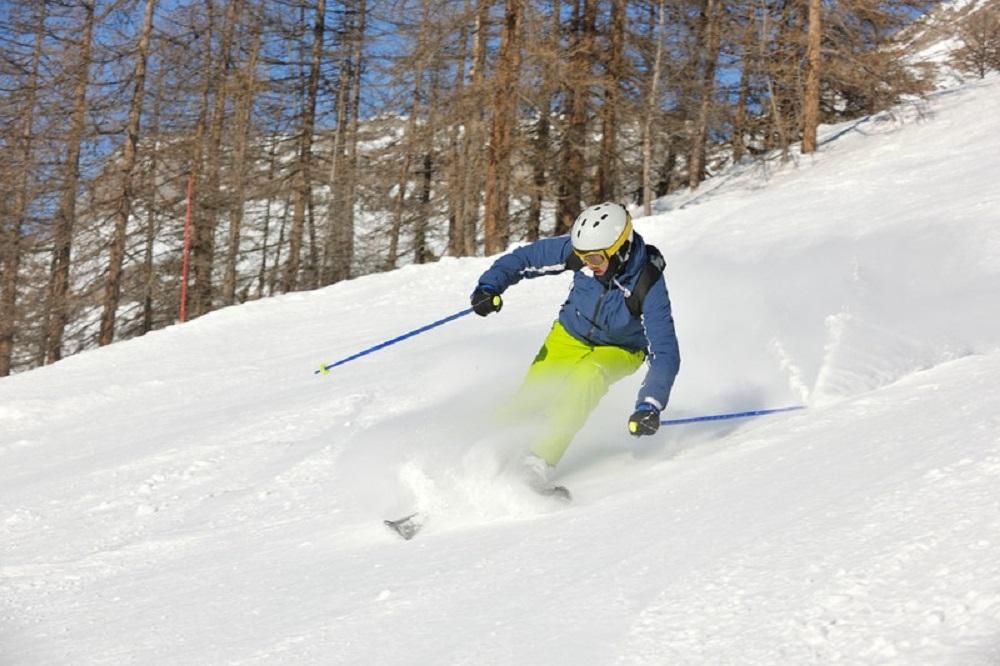 skilled skier